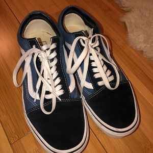 Blue Vans